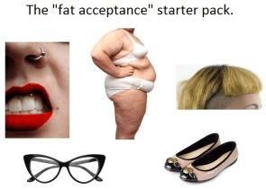 fat acceptance starter pack
