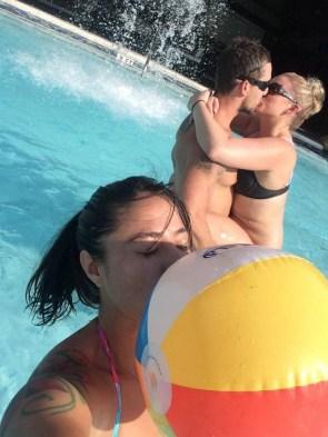 pool ball kisser