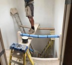 professional ladder staging