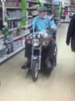 store biker