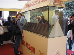 A very large Toblerone