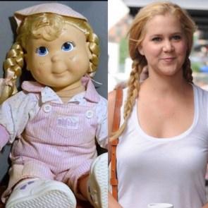 Amy looks like a pig doll