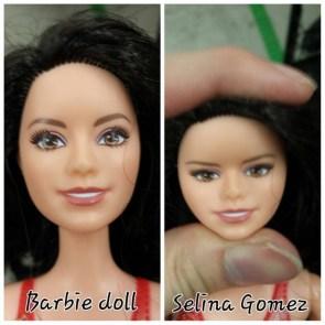 Barbie turned into Selina Gomez