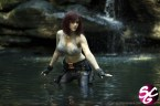 Black Widow – busty in water