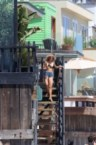 Charlotte McKinney – Bikini on a beach in Malibu, 09.08.15