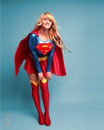 Holly Brooke as Supergirl