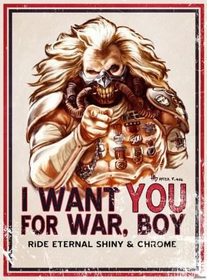 I want you for War, Boy