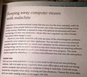 Keeping away computer viruses with malachite