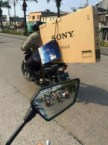 Sony Bike Delivery Man