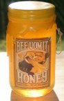 bee vomit honey