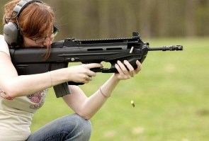 bullpup shooter