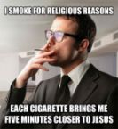 Smoking for religious reasons