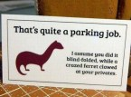 parking job card