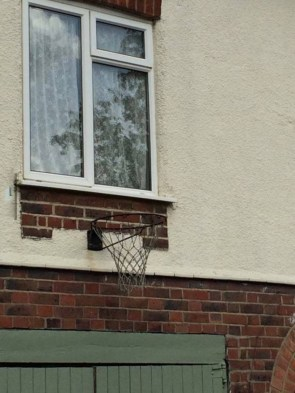 poor hoop placement