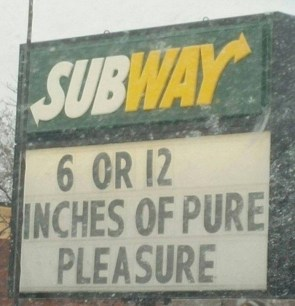 6 or 12 inches