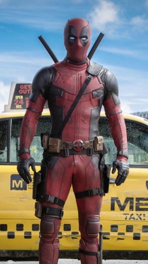 Deadpool helped a cab