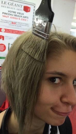 Hair Brush Color