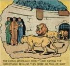 Lions hate christians
