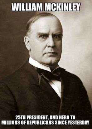McKinley – Hero to the Republicans