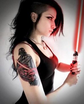 Sexy Jedi Girl
