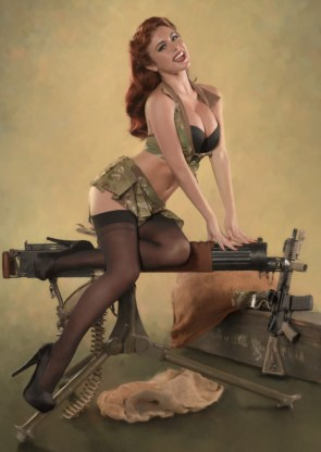 Sexy Weapons Girl