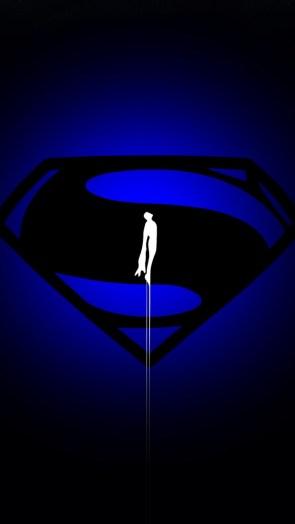 Superman in BLUE