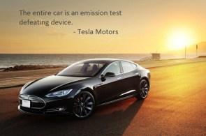 Tesla Emission Test Car