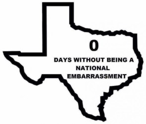 Texas is a National Embarrassment