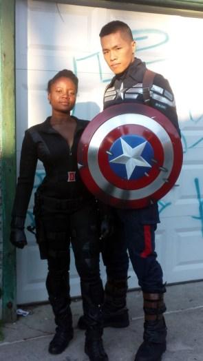 black cosplayers killing it