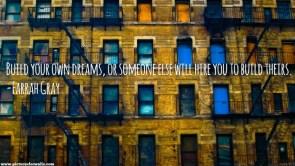 build your own dreams – Farrah Gray