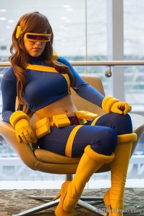 female cyclops cosplay