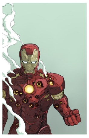 iron man is a bullet sponge – by Dave Seguin