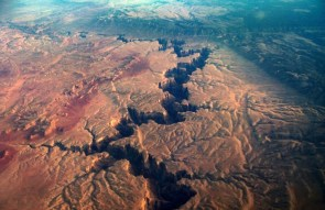 orbital view of the grand canyon