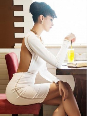 rosie huntington whiteley white dress