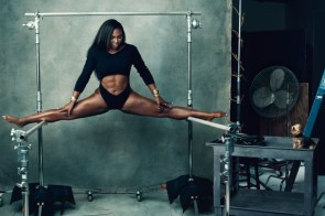 serena williams can do serious splits