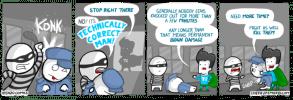 technically correct man