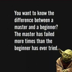 the difference from a master and beginner