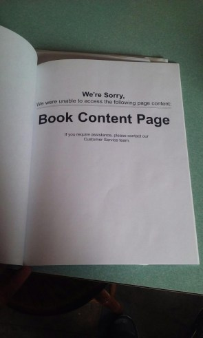 Book Content Page