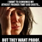 Convince an Atheist