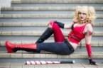 Alithia is Harley Quinn