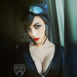 LeeAnna Vamp as Catwoman