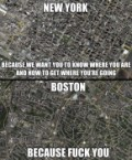 New York vs Boston