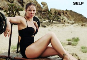 Ronda Rousey in a swimsuit