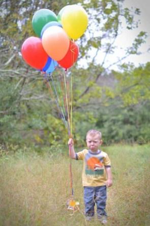 Sad Balloon Boy