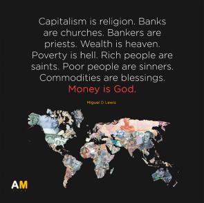 capitalism is religion