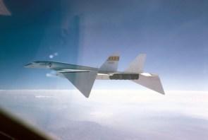 nasa test plane