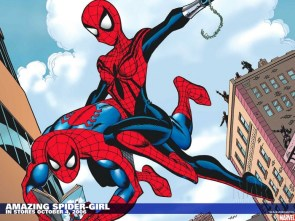 Amazing Spider-girl saves spider-man