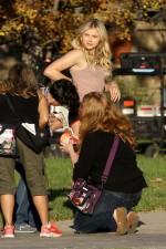Chloe Moretz – on the set of Neighbors 2 in LA 26.10.15