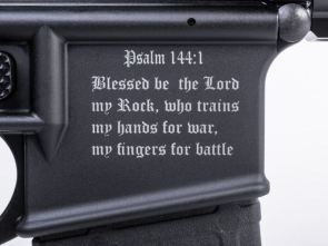 Christian assault rifles