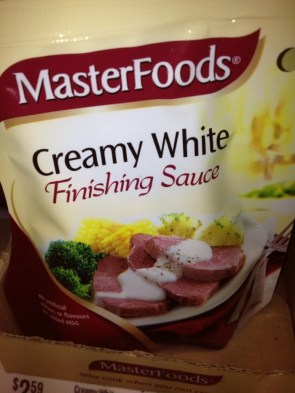 Creamy White Finishing Sauce